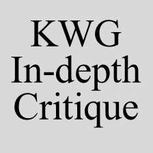 In-depth Critique