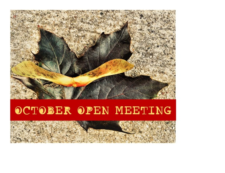 october open meeting 2019