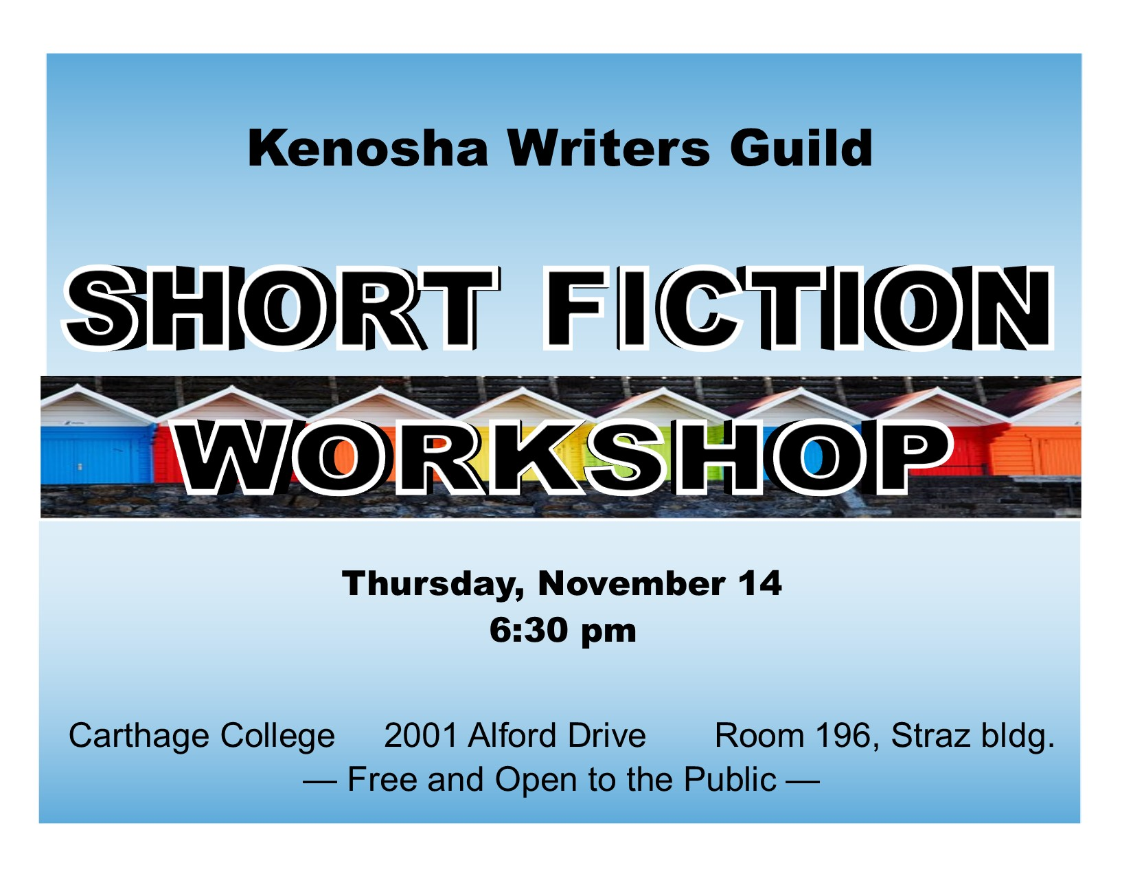 SHORT FICTION WORKSHOP